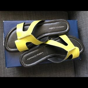 DONALD J PLINER Gera Patent Leather Slip-On, 7.5
